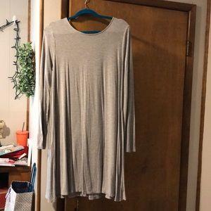Old Navy grey dress size (L)